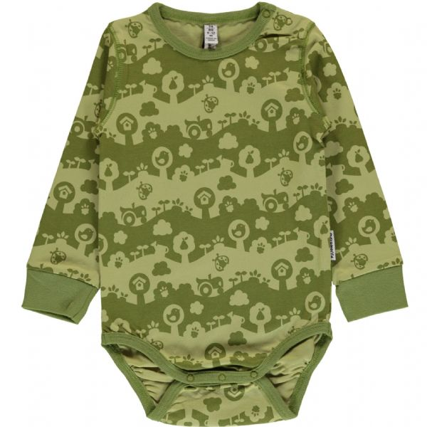 Maxomorra Long Sleeve Body Garden Landscape